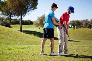 Tratamiento golf